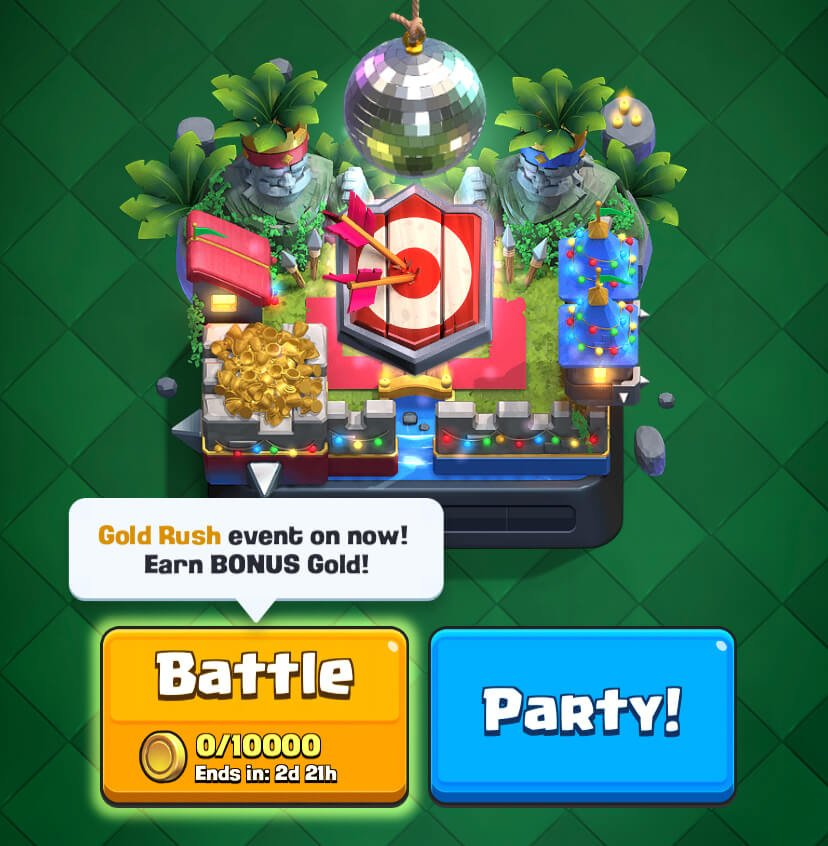 Golden Rush Clash Royale 15 listopada 2019