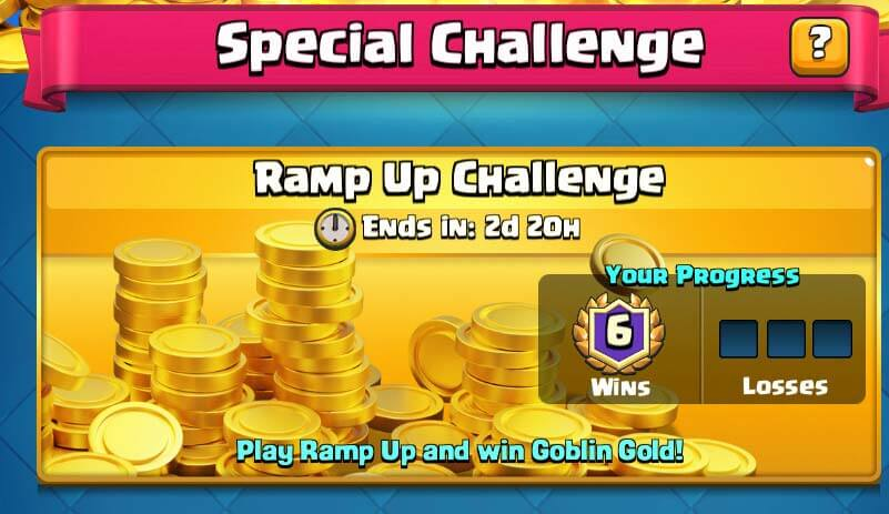 Clash Royale Ramp Up Challenge