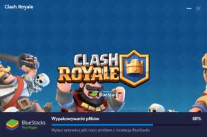 Clash Royale instalacja PC