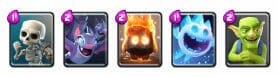 cycle cards clash royale