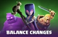 Sezon 5 Clash Royale: Balance changes