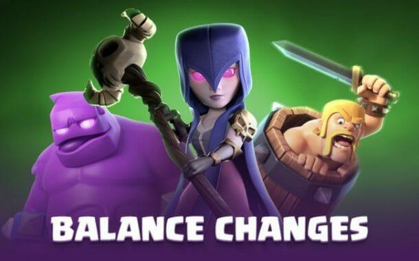 Sezon 5 Clash Royale: Balance changes