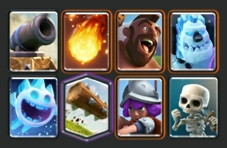 Clash Royale Cycle Deck Example